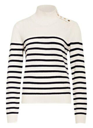 Maje Montsi Cashmere-Pullover Damen, Weiß