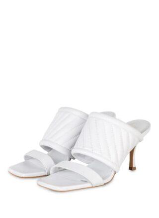 Marc Cain Pantoletten Damen, Weiß