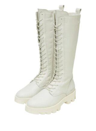Marc O'Polo Biker Boots Damen, Weiß