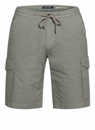Marc O'Polo Cargo-Shorts Herren, Grün