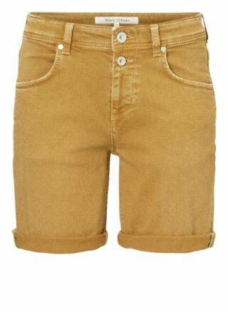 Marc O'Polo Jeans-Shorts Damen, Gelb