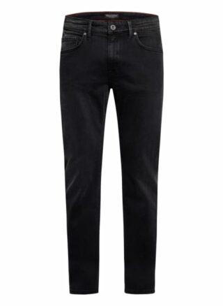 Marc O'Polo Sjöbo Regular Fit Jeans Herren, Schwarz