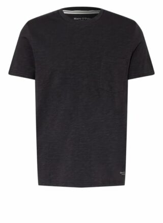 Marc O'Polo T-Shirt Herren, Schwarz