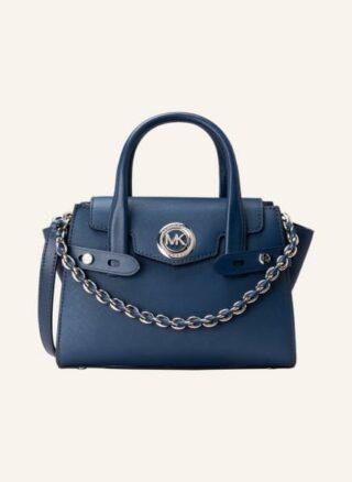Michael Kors Carmen Extra Small Handtasche Damen, Blau
