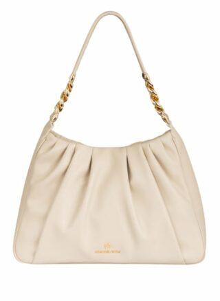 Michael Kors Hannah Medium Handtasche Damen, Weiß