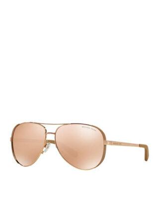 Michael Kors mk5004 Sonnenbrille Damen, Gold