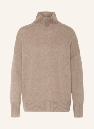 Mrs & HUGS Cashmere-Pullover Damen, Beige