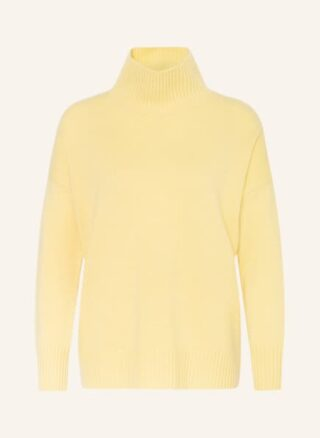 Mrs & HUGS Cashmere-Pullover Damen, Gelb