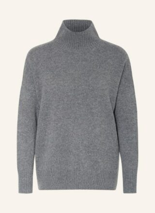 Mrs & HUGS Cashmere-Pullover Damen, Grau