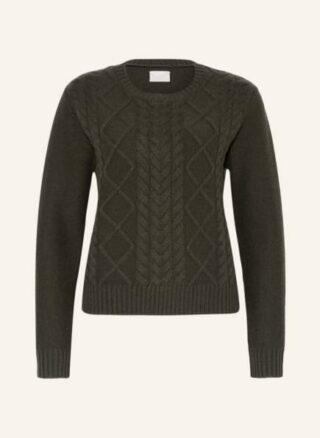Mrs & HUGS Cashmere-Pullover Damen, Grün