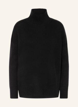 Mrs & HUGS Cashmere-Pullover Damen, Schwarz