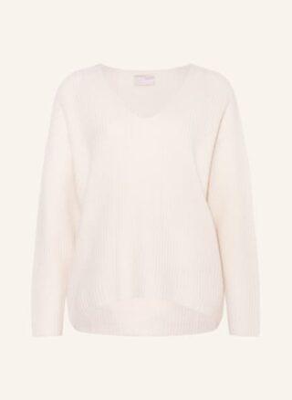 Mrs & HUGS Cashmere-Pullover Damen, Weiß
