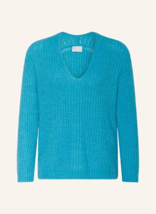 Mrs & HUGS Pullover Damen, Blau