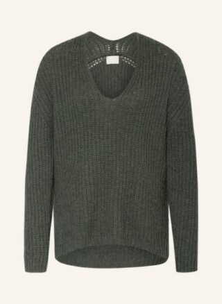 Mrs & HUGS Pullover Damen, Grün