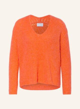 Mrs & HUGS Pullover Damen, Orange