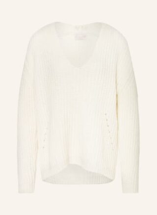 Mrs & HUGS Pullover Damen, Weiß