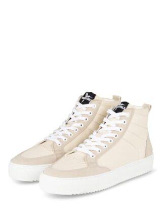 NOANYMLZ Level g2 Hightop-Sneaker Damen, Beige