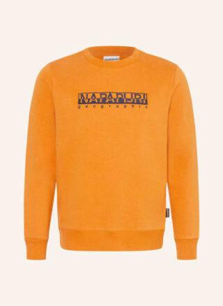 Napapijri Berber Sweatshirt Herren, Orange