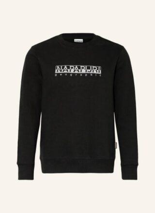 Napapijri Berber Sweatshirt Herren, Schwarz