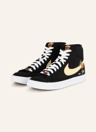 Nike Blazer Mid '77 Hightop-Sneaker Herren, Schwarz