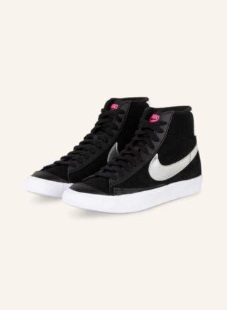 Nike Blazer Mid Vntg '77 Hightop-Sneaker Damen, Schwarz