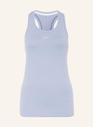 Nike Dri-Fit Adv Aura Tanktop Damen, Blau