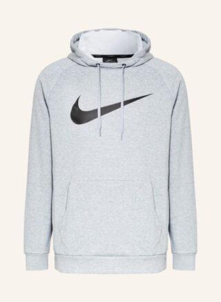 Nike Dri-Fit Hoodie Herren, Grau