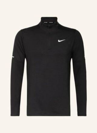 Nike Dri-Fit Longsleeve Herren, Schwarz