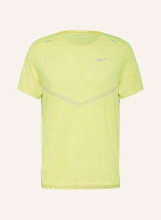 Nike Dri-Fit Rise 365 T-Shirt Herren, Gelb