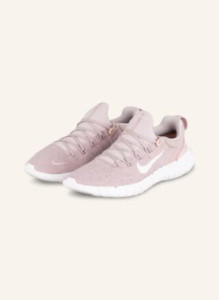 Nike Free Run 5.0 Laufschuhe Damen, Pink