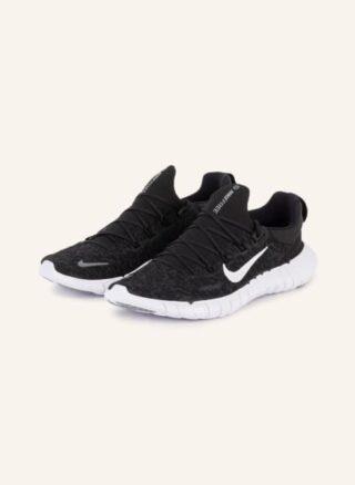 Nike Free Run 5.0 Laufschuhe Damen, Schwarz