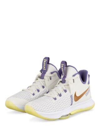 Nike Lebron Witness 5 Sportschuhe Herren, Weiß