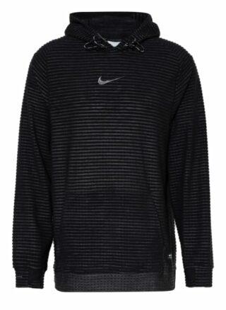 Nike Pro Therma-Fit Adv Oversized-Hoodie Herren, Schwarz
