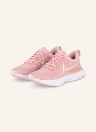 Nike React Infinity Run Flyknit 2 Laufschuhe Damen, Pink