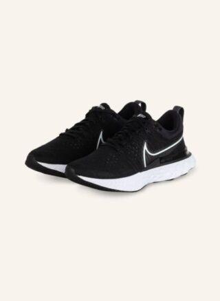 Nike React Infinity Run Flyknit 2 Laufschuhe Damen, Schwarz