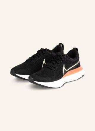 Nike React Infinity Run Laufschuhe Damen, Schwarz