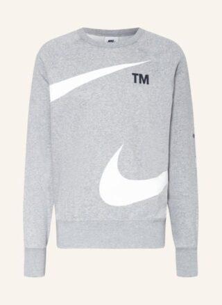 Nike Sportswear Swoosh Sweatshirt Herren, Grau