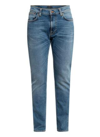 Nudie Jeans Lean Dean Tapered Jeans Herren, Blau