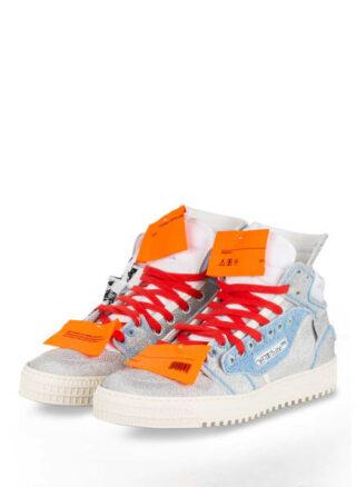 Off-White Off Court 3.0 Hightop-Sneaker Herren, Silber