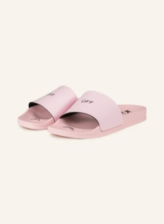 Off-White Pantoletten Damen, Pink