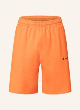 Off-White Shorts Herren, Orange