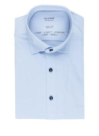 Olymp Level Five 24/7 Jerseyhemd Herren, Blau