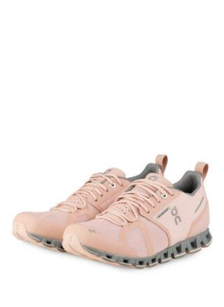 On Cloud Waterproof Laufschuhe Damen, Pink
