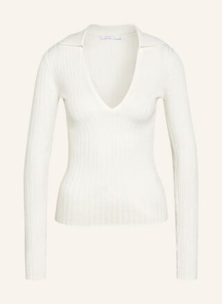 PATRIZIA PEPE Pullover Damen, Weiß