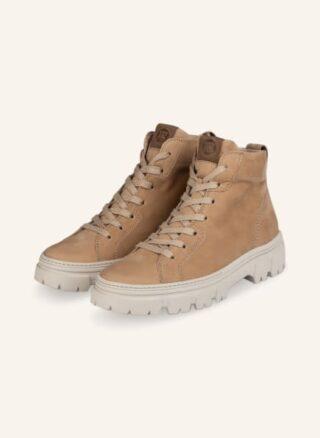 Paul Green Hightop-Sneaker Damen, Beige