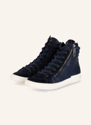 Paul Green Hightop-Sneaker Damen, Blau