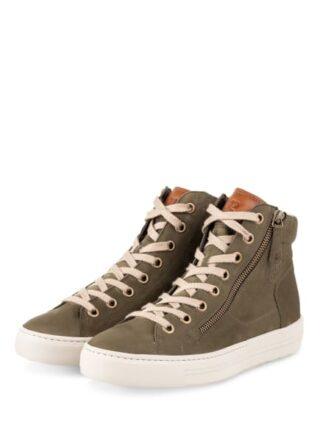 Paul Green Hightop-Sneaker Damen, Grün