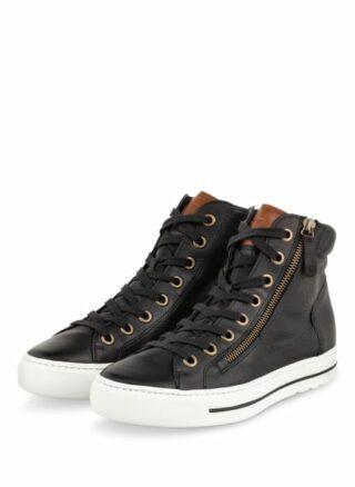 Paul Green Hightop-Sneaker Damen, Schwarz