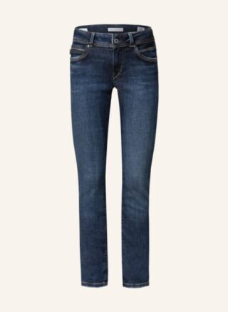 Pepe Jeans New Brooke Skinny Jeans Damen, Blau