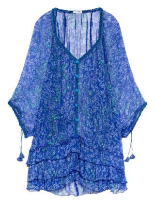 Poupette St Barth Nava Tunika Damen, Blau